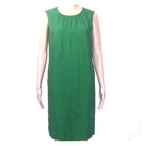 Zara Basic green sheath dress